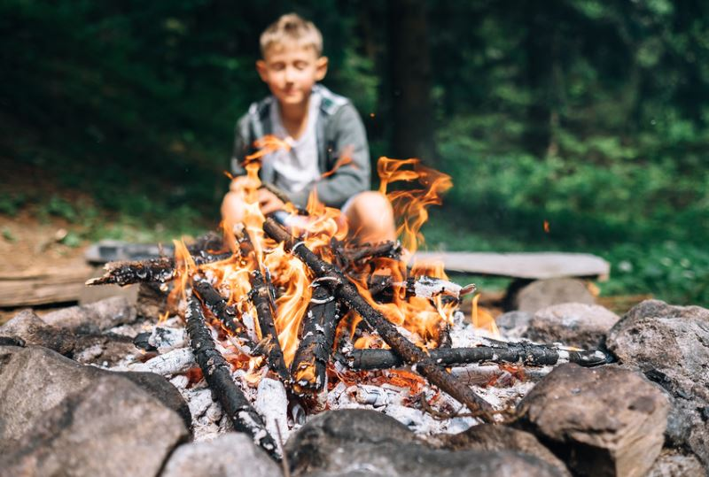 Kinderreisen ins Survival Camp in den Sommerferien
